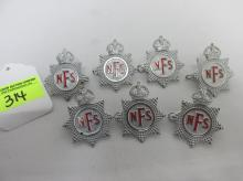 COLLECTION OF NATIONAL FIRE SERVICE BADGES