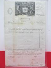 1867 FIRE INSURANCE POLICY, ENGLAND