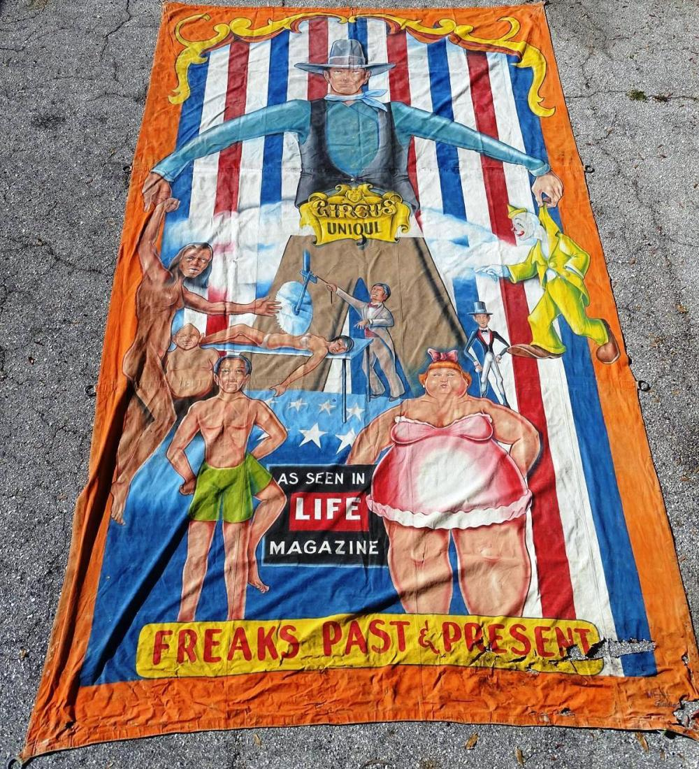JOHNNY MEAH SIDESHOW BANNER
