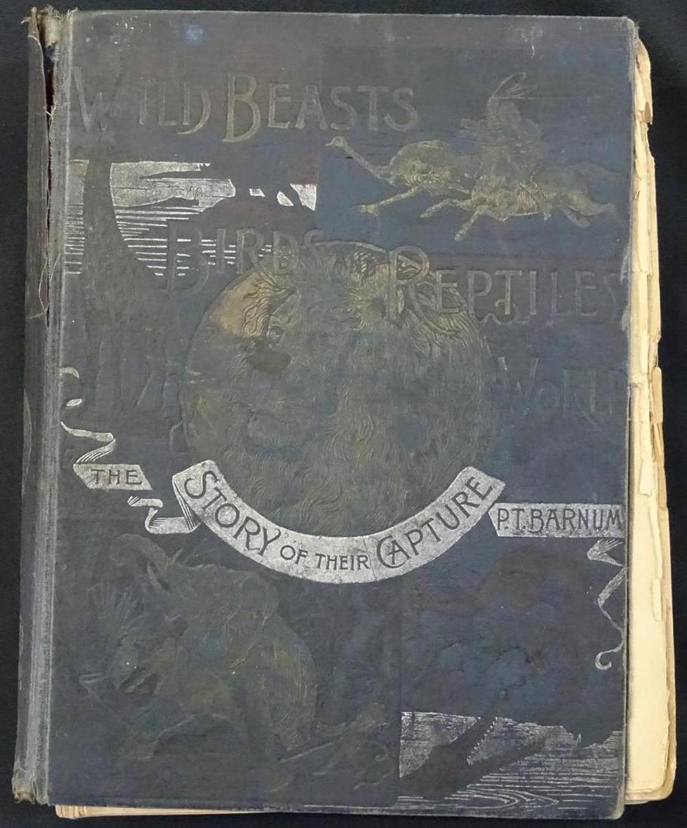 1891 P.T. BARNUM ILLUSTRATED BOOK