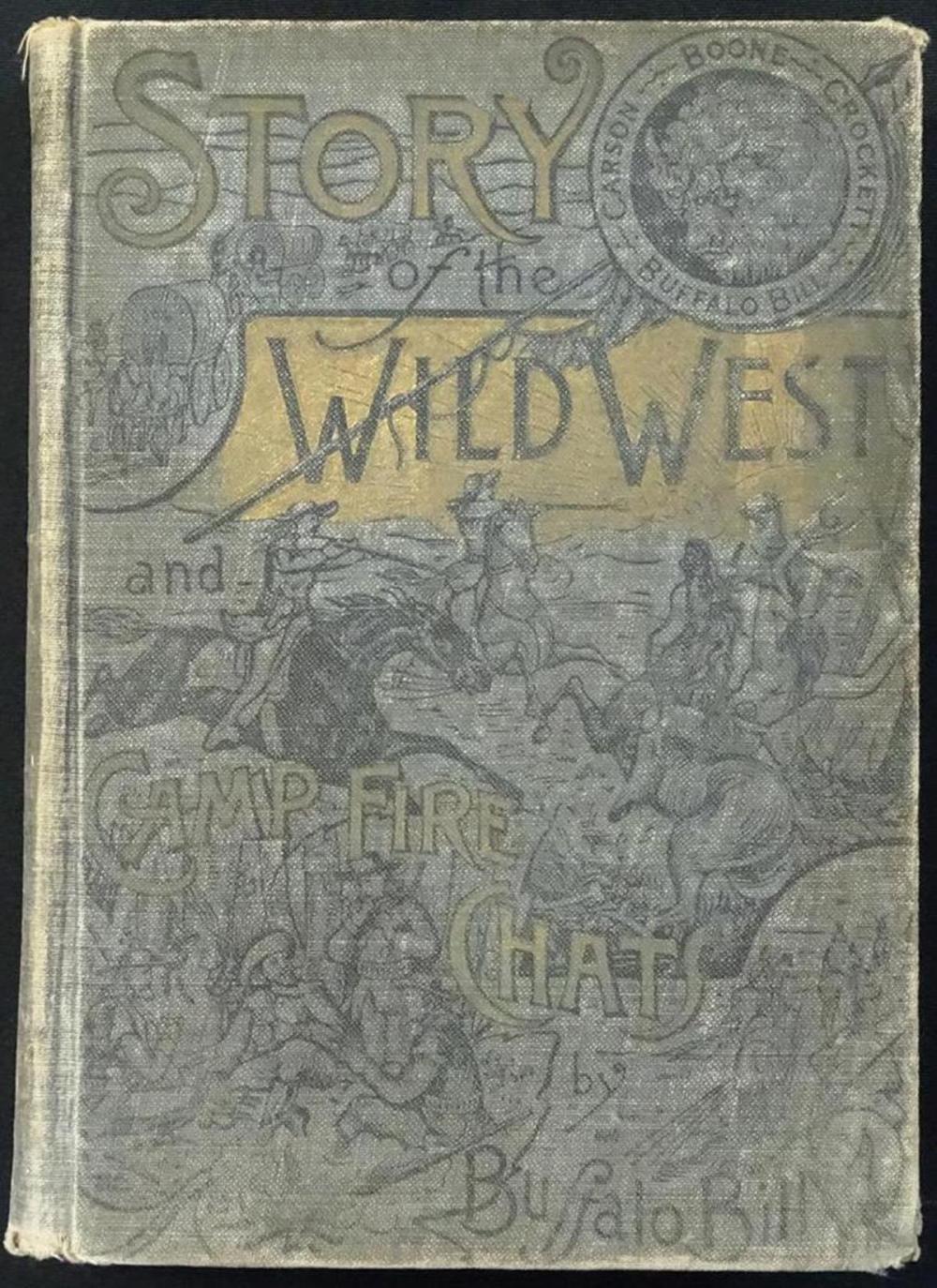 1902 BUFFALO BILL ILLUSTRATED BOOK