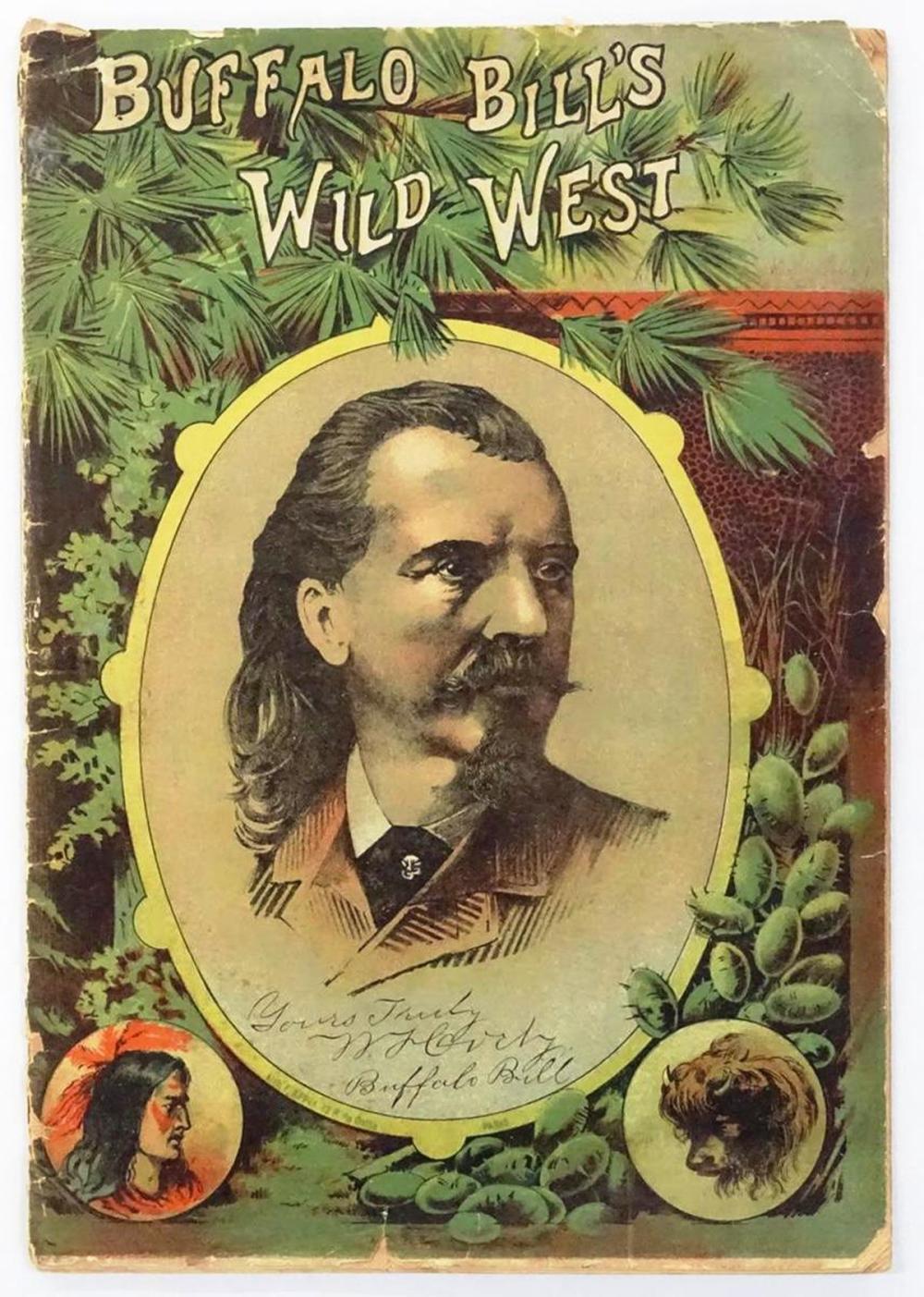 RARE - 1889 BUFFALO BILL WILD WEST PROGRAM