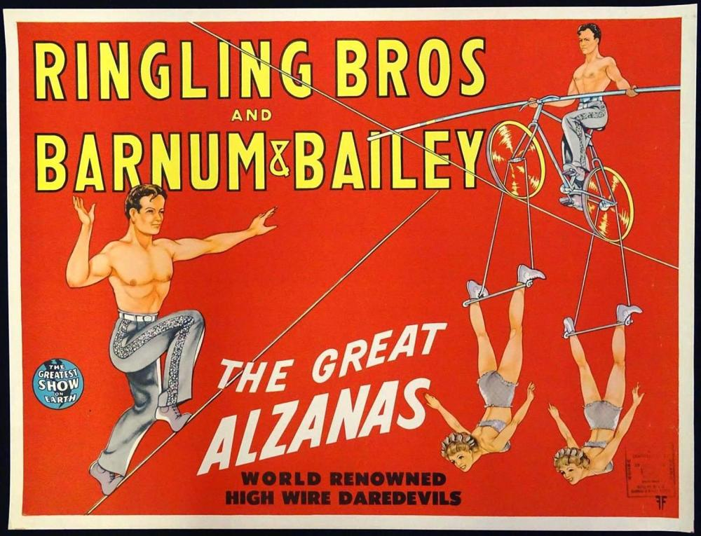 RINGLING BROTHERS AND BARNUM & BAILEY POSTER
