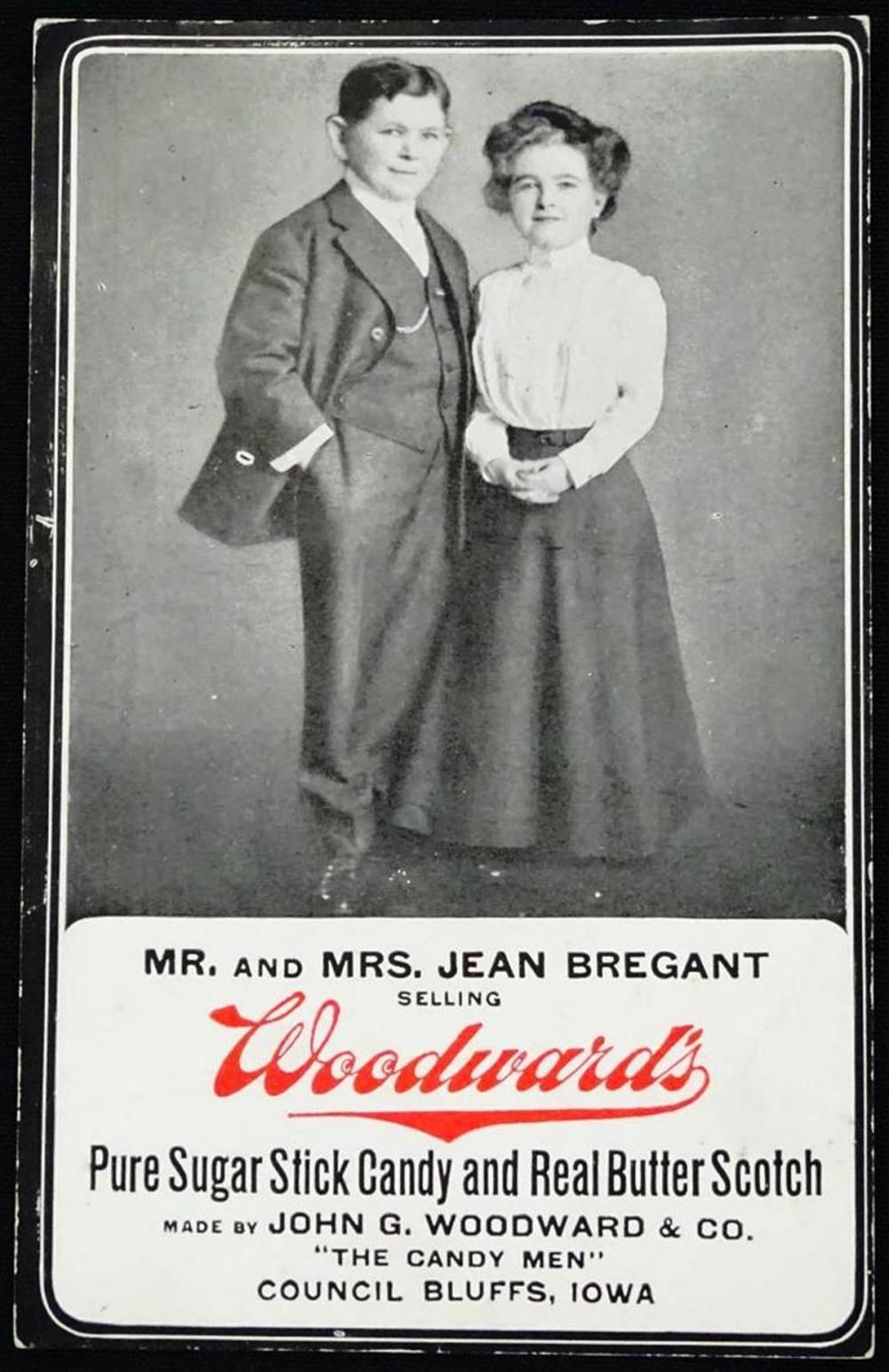 MR. AND MRS. JEAN BREGANT ADVERTISING CARD