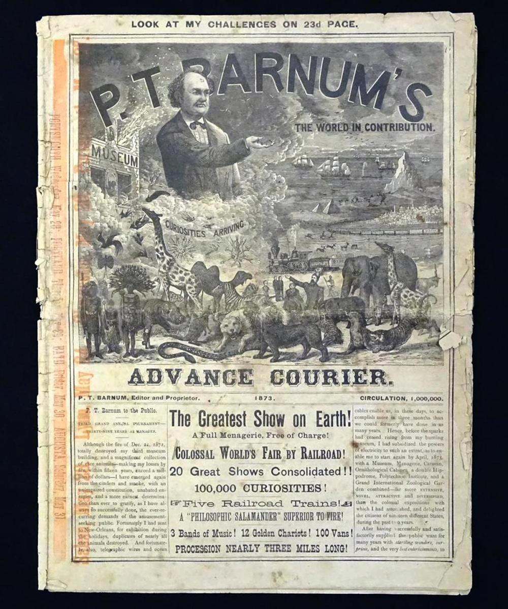 P.T. BARNUM CIRCUS COURIER
