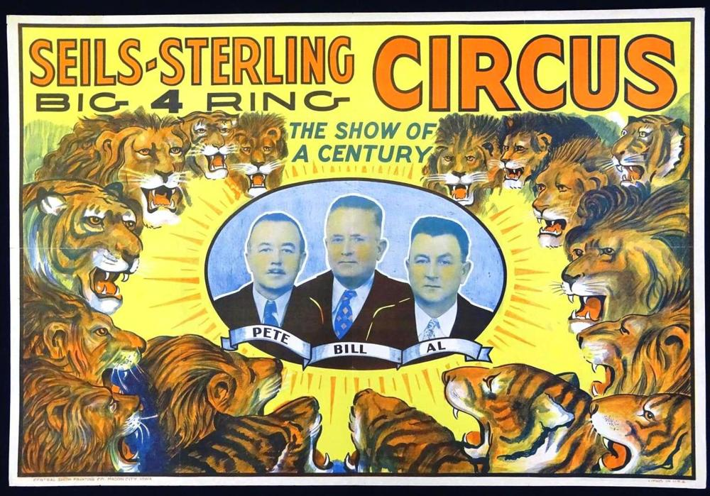 SEILS-STERLING CIRCUS POSTER