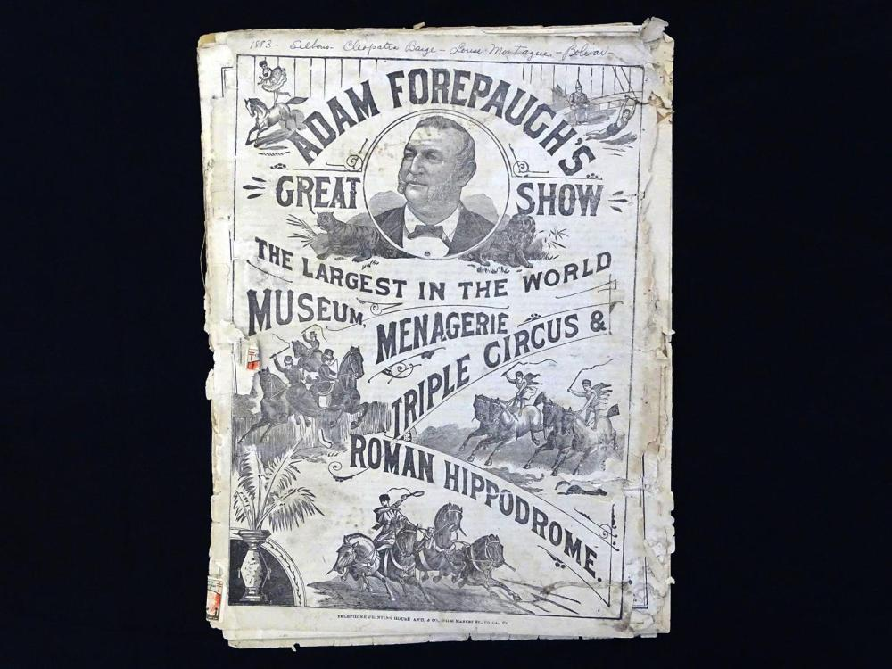 FOREPAUGH AND SELLS CIRCUS COURIERS