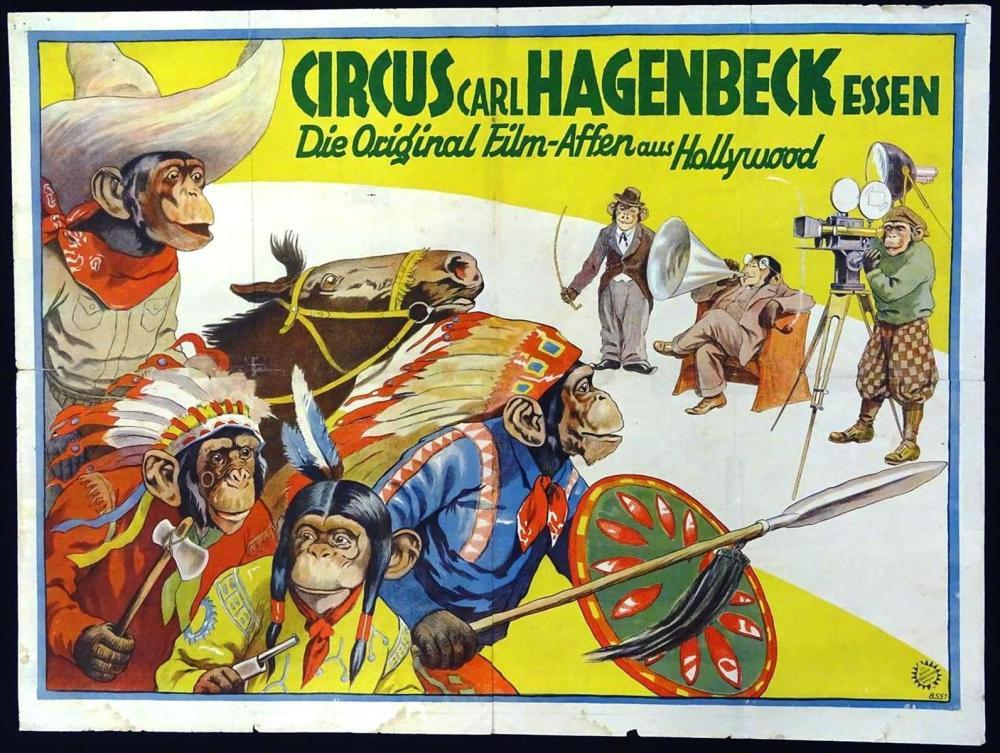 CARL HAGENBECK CIRCUS POSTER