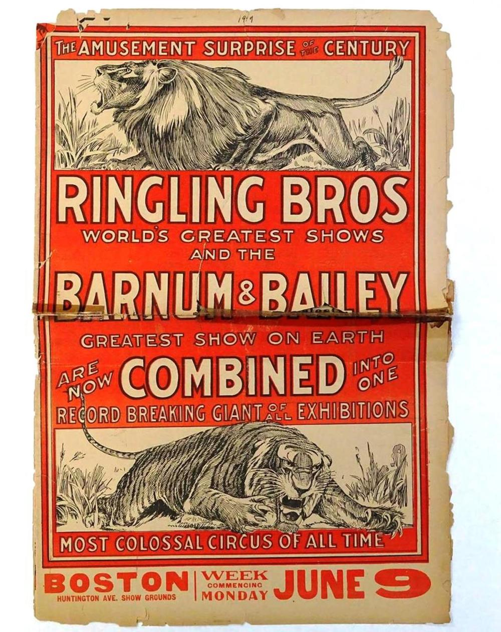 RINGLING BROS. AND BARNUM & BAILEY CIRCUS COURIER