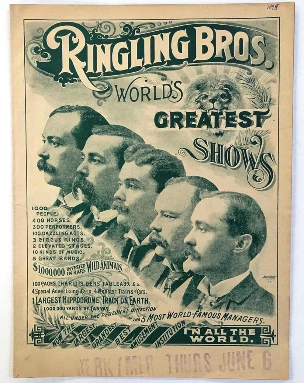 RINGLING BROS. CIRCUS COURIER