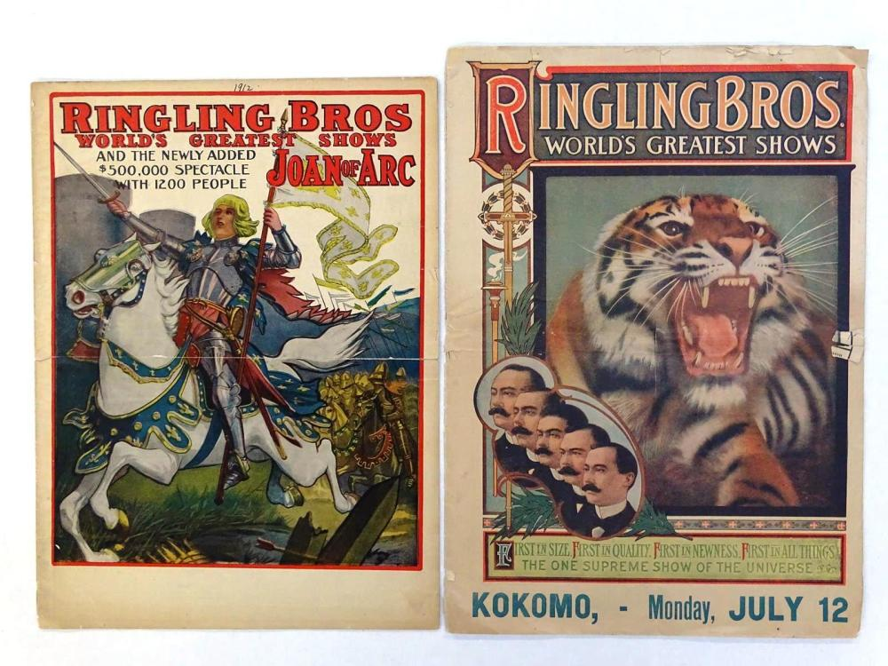 RINGLING BROS. CIRCUS COURIERS