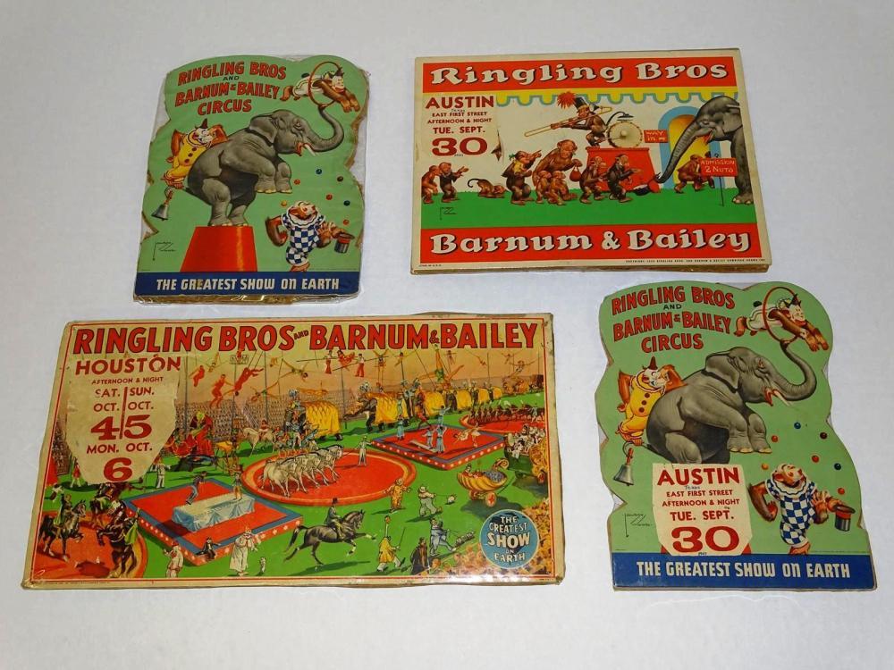 RINGLING BROS. & BARNUM & BAILEY COUNTER CARDS