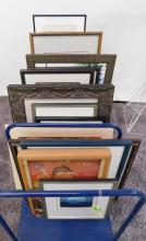 15 PC. MID-CENTURY MODERN ART PIECES