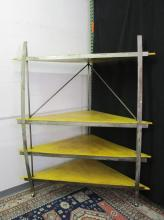 LARGE INDUSTRIAL CORNER SHELF