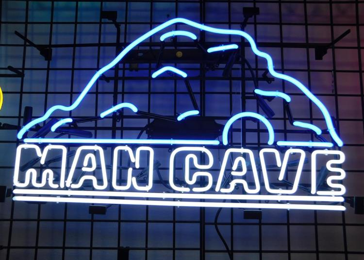 Man Cave Neon Signs Uk : Man cave neon sign