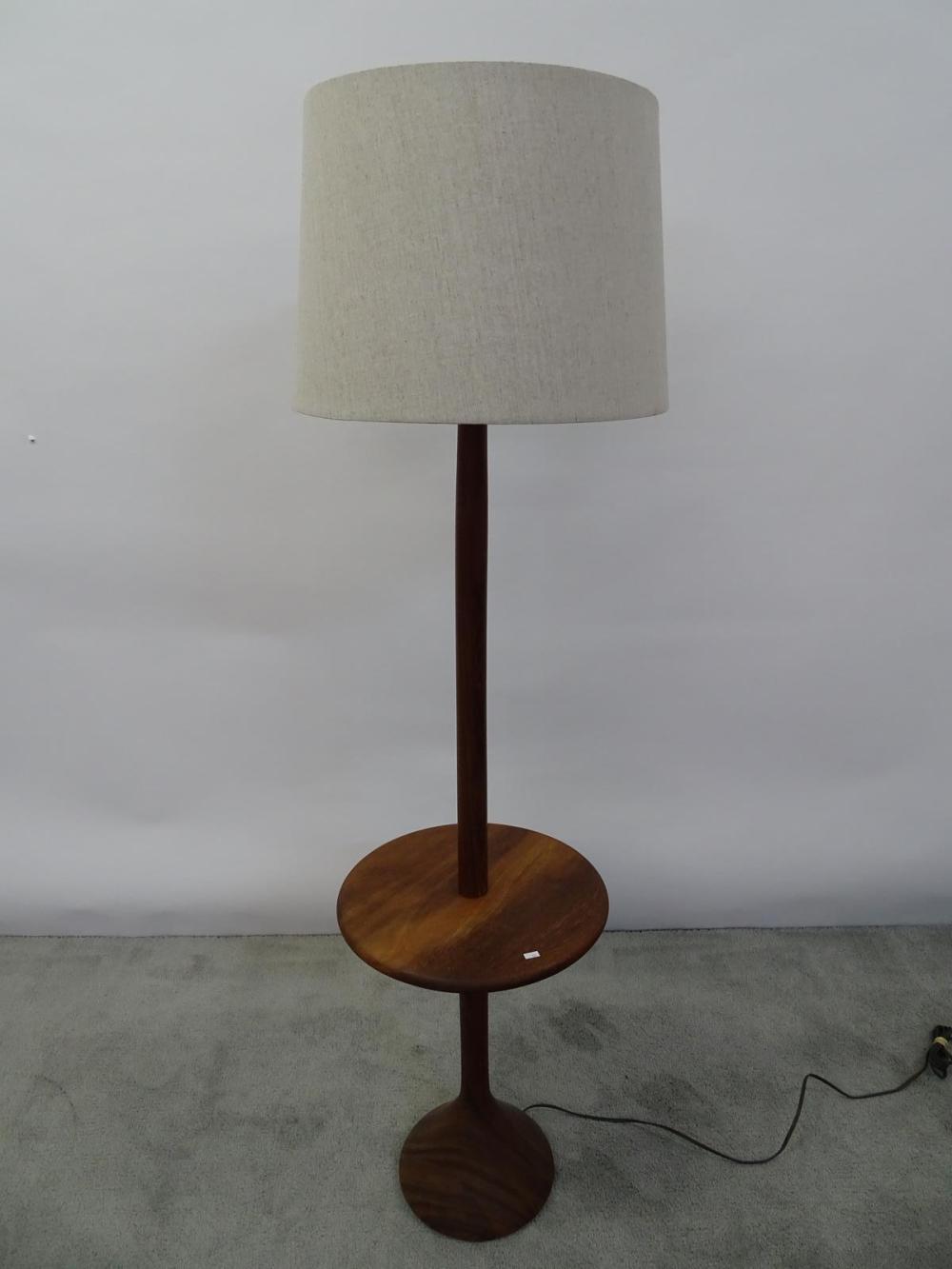 DANISH TEAK FLOOR LAMP