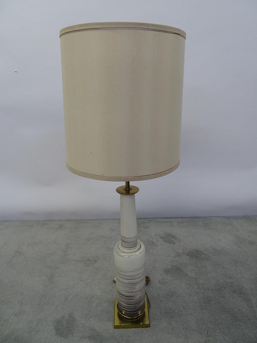 LARGE STIFFEL CERAMIC TABLE LAMP