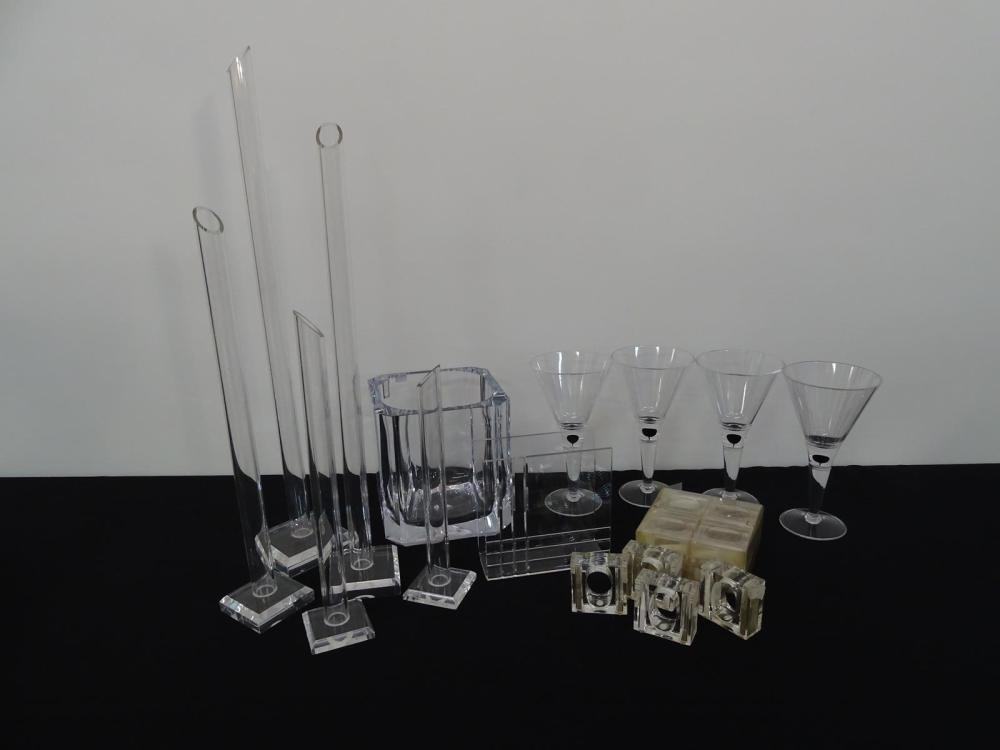 ACRYLIC SERVING ITEMS