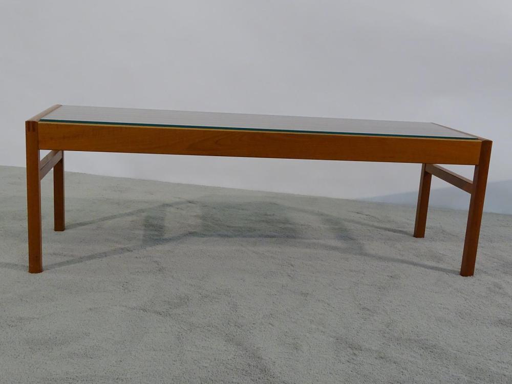 LYSGAARD DANISH TEAK SLAT BENCH/TABLE