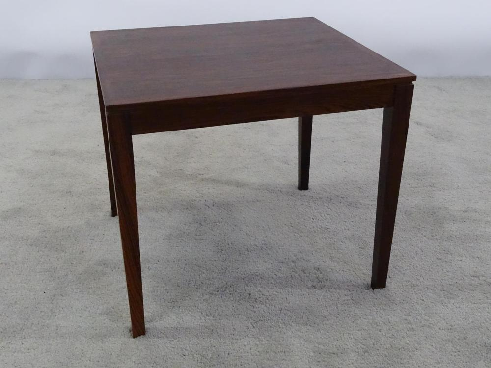 DANISH ROSEWOOD SIDE TABLE