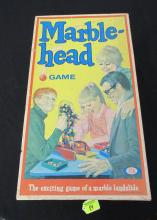 1969 IDEAL MARBLEHEAD GAME, ORIGINAL BOX & CONTENTS
