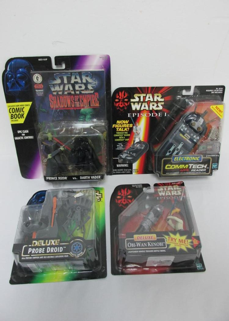 Star Wars Kenner Hasbro Toy Grouping
