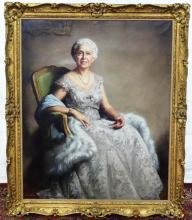LOUISE ALTSON (AMERICAN, 1910-2010) PORTRAIT PAINTING