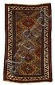 Kazak long rug, southwest caucasus, circa last quarter 19th century,