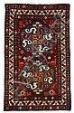 Chondoresk rug, southwest caucasus, circa late 19th century,