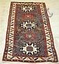 Lesghi rug, northeast caucasus, circa 1900,