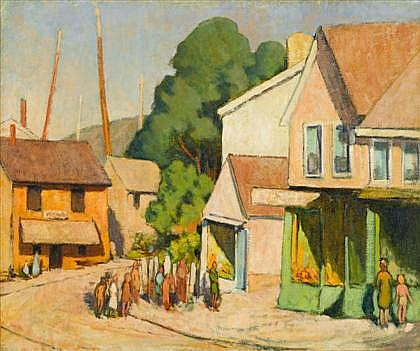 YARNALL ABBOTT, (AMERICAN 1870-1938),