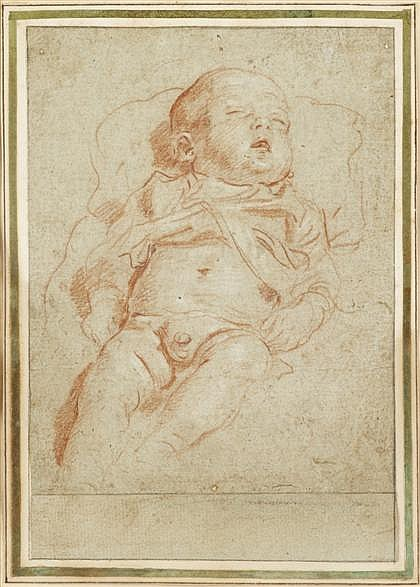 BOLOGNESE SCHOOL, (16TH-17TH CENTURY), INFANT SLEEPING