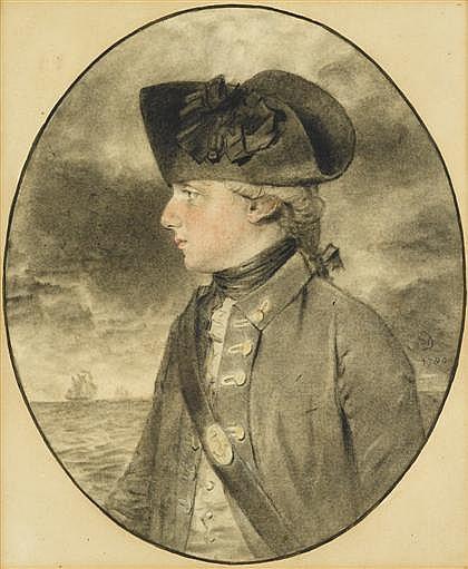 JOHN DOWNMAN, (BRITISH 1750-1824), CAPTAIN THE HONOURABLE W. WALDERGRAVE