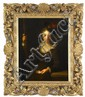 AFTER ALEXIS GRIMOU, (SWISS 1678-1733), PORTRAIT OF A GIRL, THREE-QUARTER LENGTH, DRESSED AS A PILGRIM