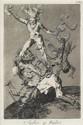 FIVE PRINTS FRANCISCO DE GOYA, (SPANISH 1746-1828), SUBIR Y BAJAR PLATE 56 FROM
