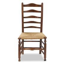 Ladderback chair, 18th/19th century