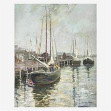 Christopher Willett (American, B 1959), , Gloucester Bay