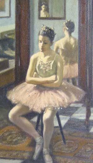 JACK BOOKBINDER (American 1911-1993)  BALLERINA