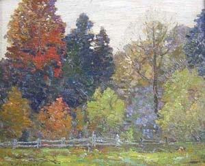ROBERT HENRY LINDSAY (Canadian 1868-1938)  AUTUMN