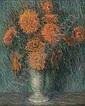 SAMUEL GEORGE PHILLIPS (American 1890-1965)  STILL LIFE OF FLOWERS, Samuel George Phillips, Click for value