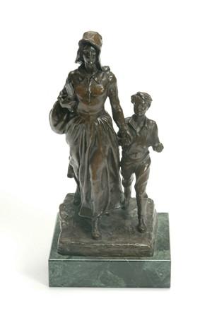 BRYANT BAKER (American 1881-1970)  THE PIONEER WOMAN