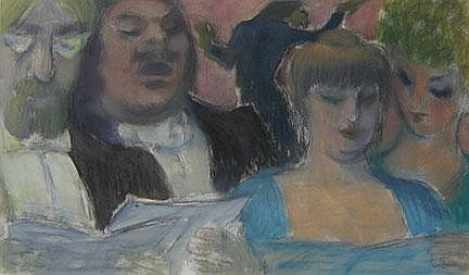 THEODORE FRIED, (AMERICAN 1902-1980), OPERA SIGNERS