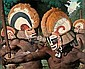 ROBERT RIGGS, (AMERICAN 1896-1970), TRIBESMEN WITH HEADDRESSES, Robert Riggs, Click for value