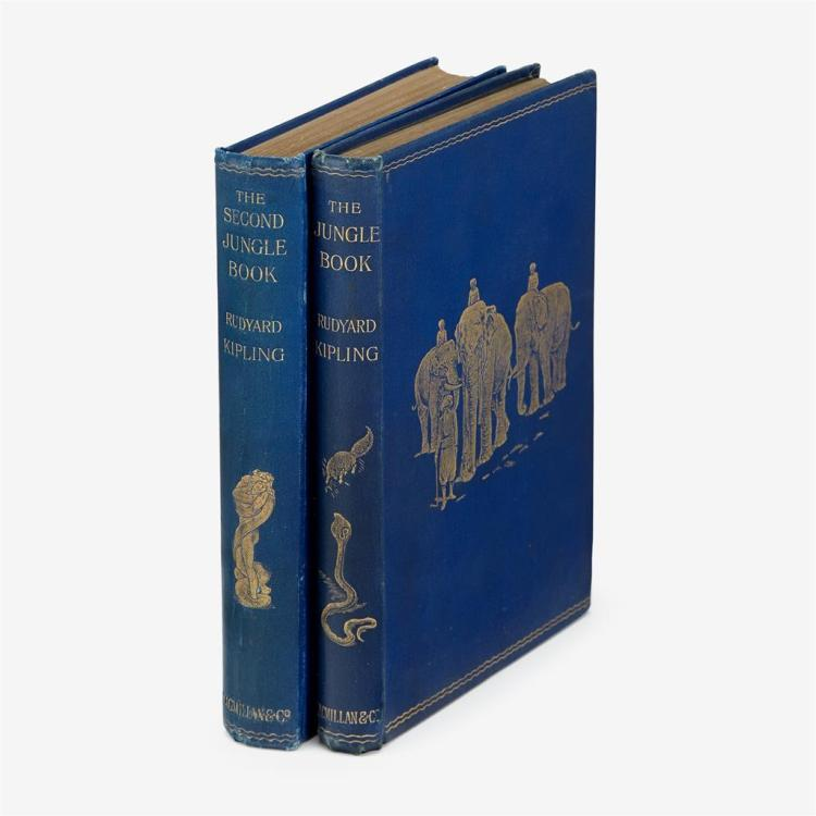 2 vols. Kipling, Rudyard: The Jungle Book. London: Macmillan, 1894. 1st ed. * The Second Jungle Book. London:...