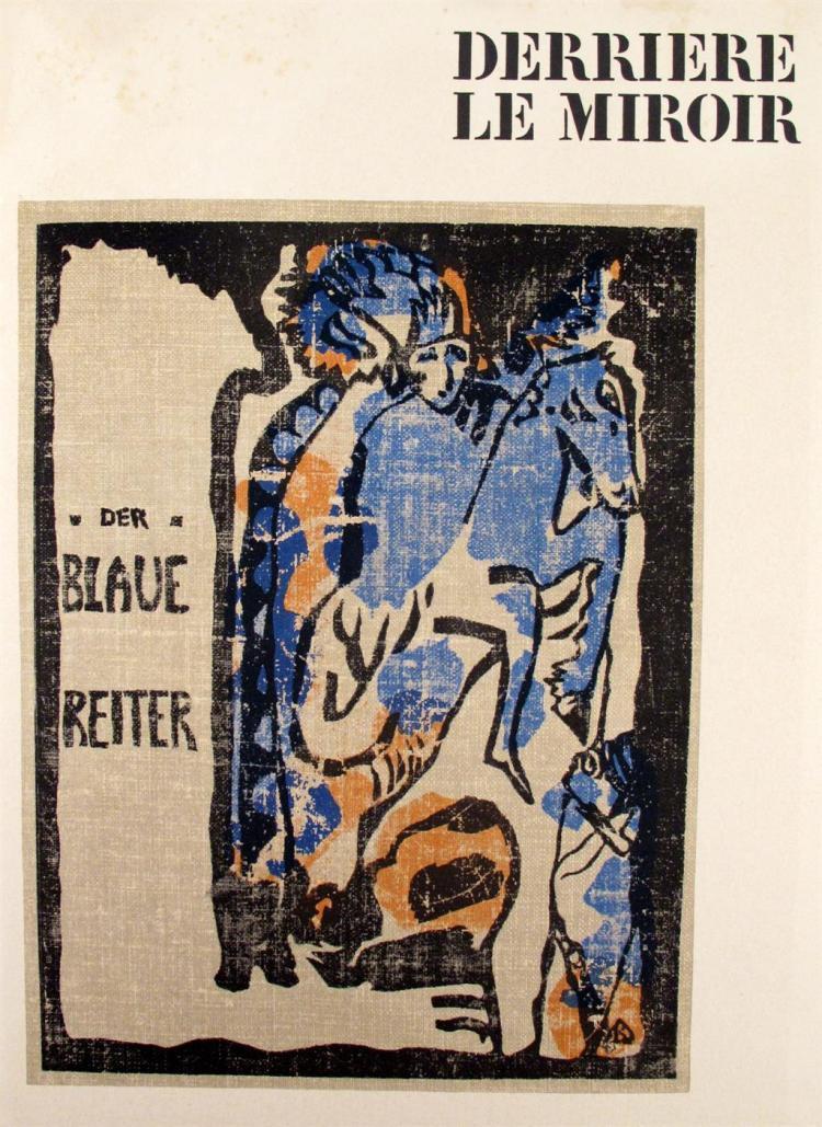 5 vols derrier le miroir der blaue reiter paris maeght for Derrier le miroir