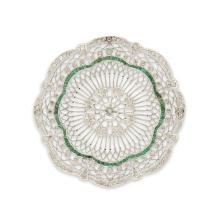 An Art Deco diamond and platinum brooch, circa 1925