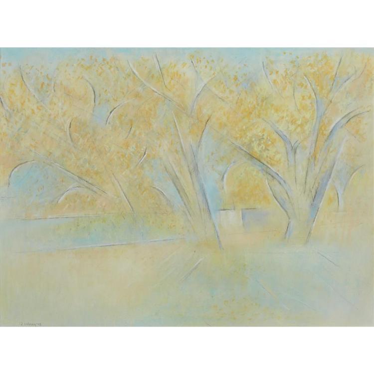 ANDREW MICHAEL DASBURG, (AMERICAN 1887-1979), FALL TREES