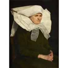 MARTA ARONSON-DANZIG, (DANISH 19TH CENTURY), PORTRAIT OF A NUN