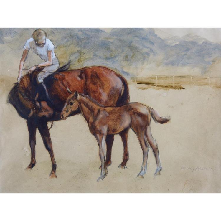 HENRY KOEHLER, (AMERICAN B. 1927),