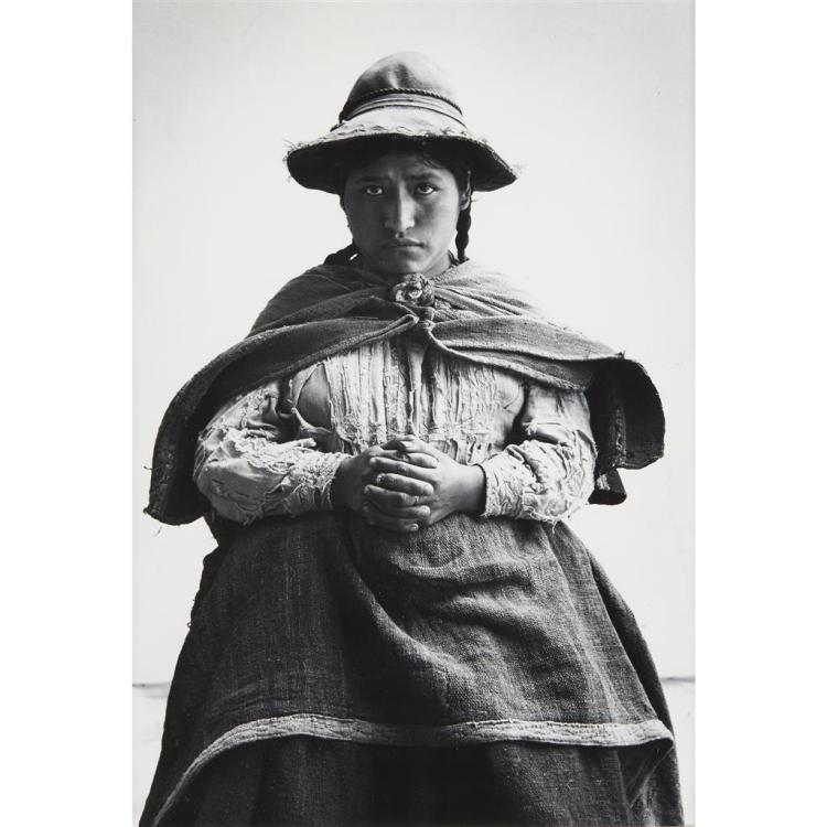 IRVING PENN, (AMERICAN 1917-1999), FORLORN WOMAN, CUZCO (PERU)
